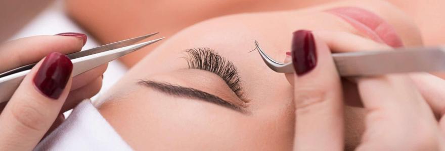 training in eyelash extension